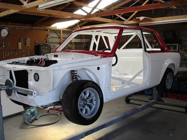 Datsun 510 Race Car Build