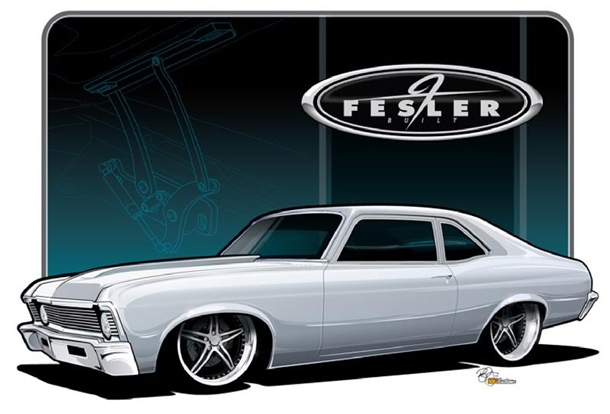 Fesler Built 1970 Chevy Nova