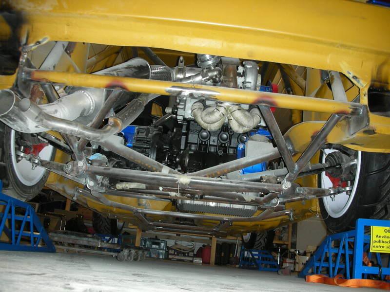 Mk2 Golf Mid Engine Rwd