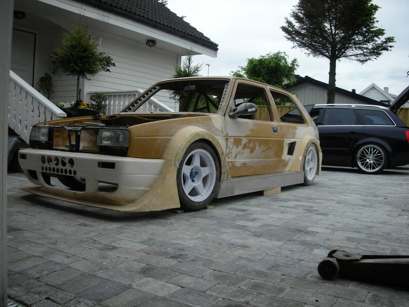 Mk2 Golf Mid-Engine RWD