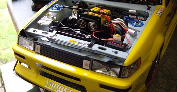 1:10 Scale sunRISE AE86 RC Car