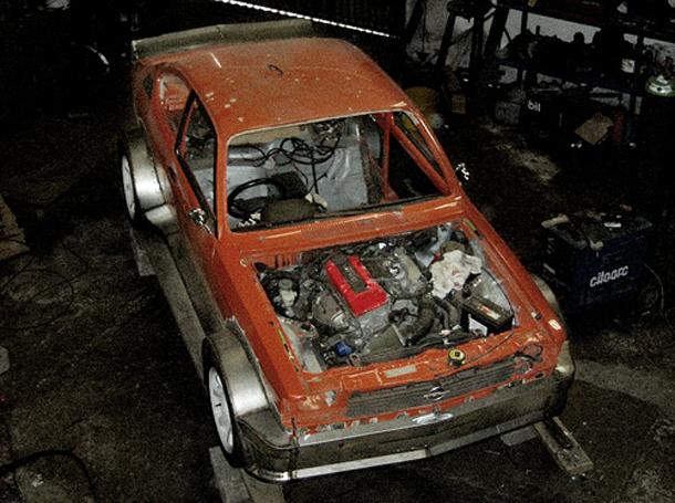 Opel Kadett + S2000