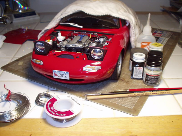1:10 Scale Mazda MX5 + Mini