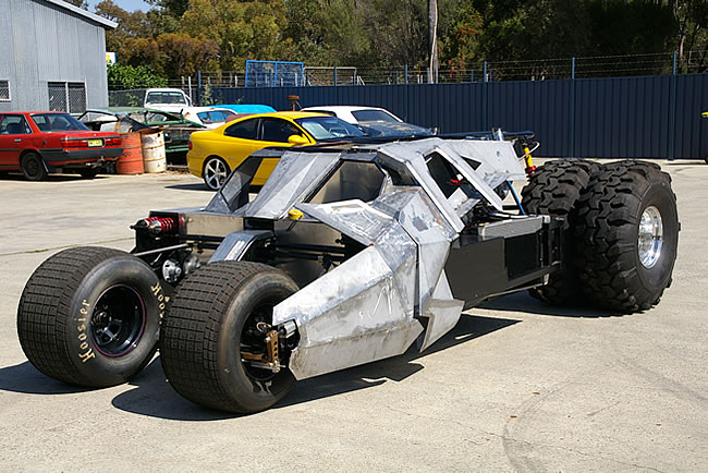 Home-made Batman Tumbler