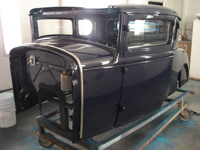 Model A Coupe – Build Threads