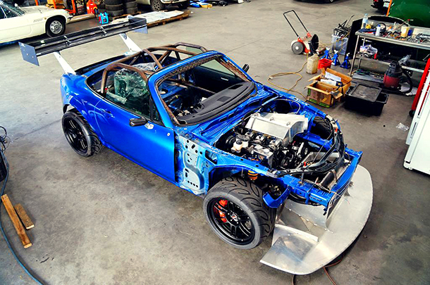20B-powered Time Attack NC MX5