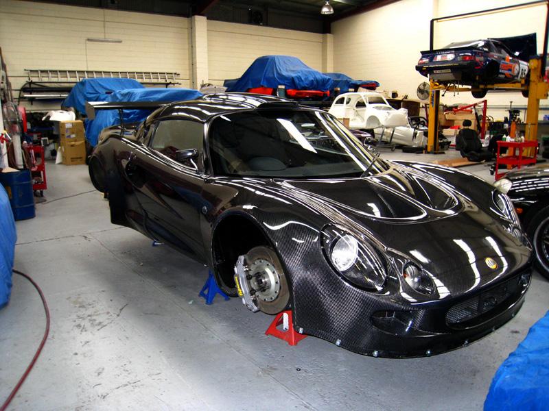 Carbon Fibre Lotus Exige
