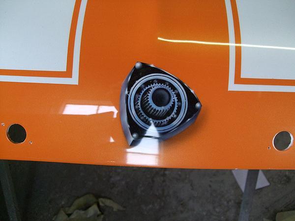 13BT Rotary Chevy Nova