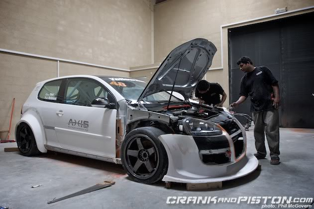 VW Golf MKV Track Build