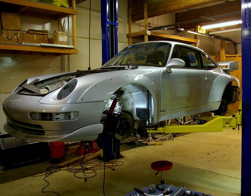 Porsche 993 – C2 RSR clone