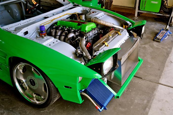 Las Vegas S13 Drift build