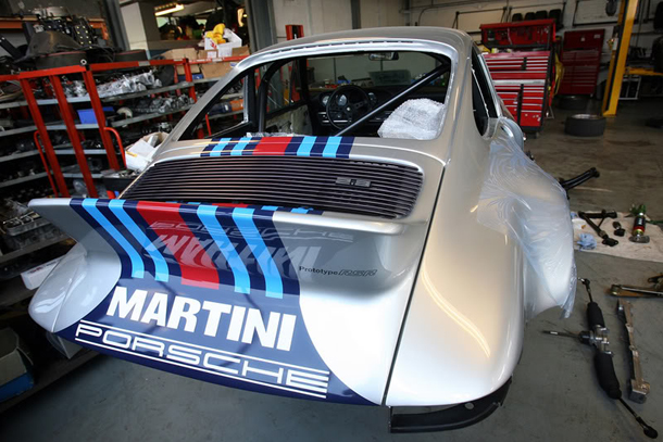 '72 Martini Porsche RSR recreation