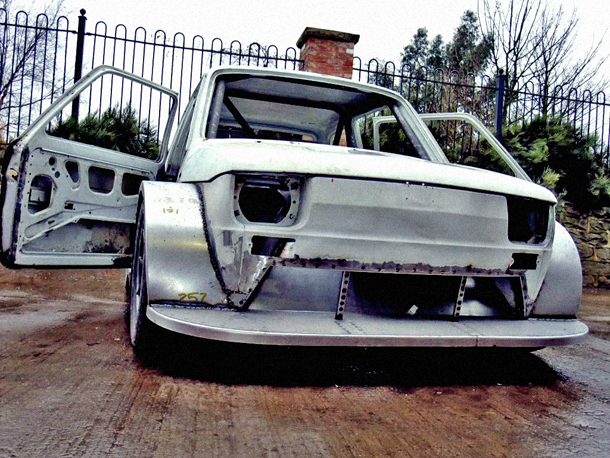 Fiat 126 Supercharged 1100cc