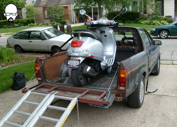 VW Fox ute conversion