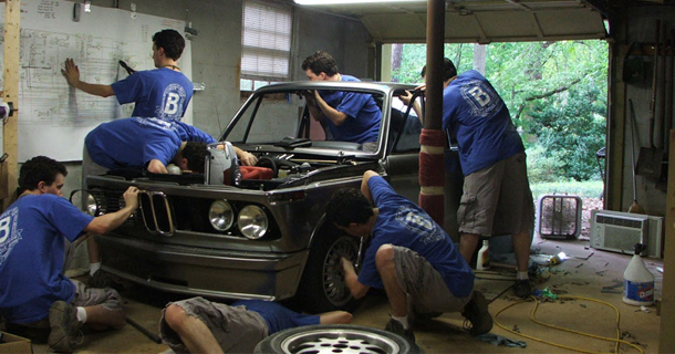 BMW 2002 restoration