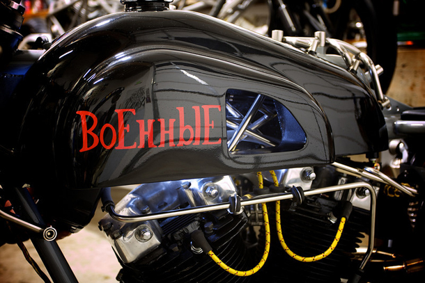 '65 Harley Ironhead Cafe masterpiece