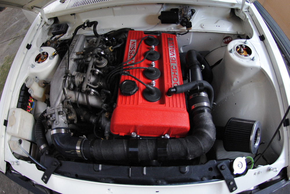 Project 510: Engine bay v1