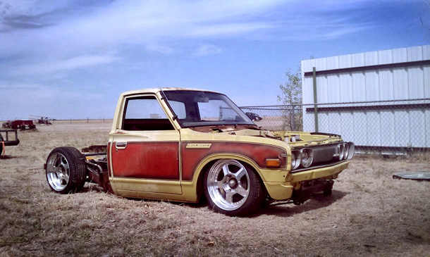 Layed-out Datsun 620 – Build Threads