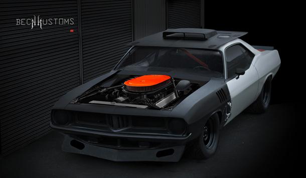 73 Plymouth Cuda