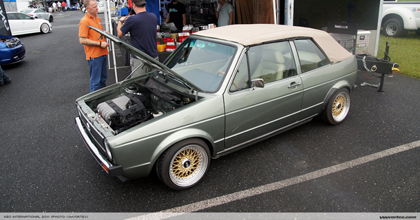 VR6 MK1 Cabby 16-day build