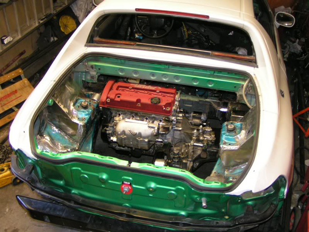 AWD Twin Engine Honda CRX