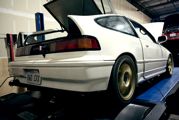 Mid-Engine RWD turbo CRX