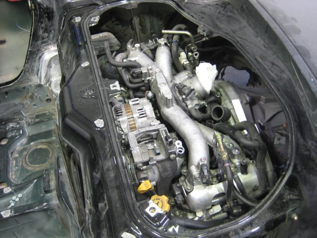 Porsche Boxster Engine Location 981 Diagram Subaru Powered Build Threads 1024x768