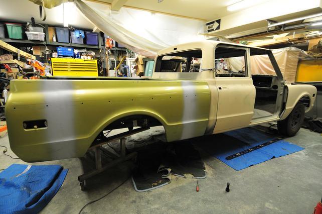 72 Chevrolet Crew Cab Pickup