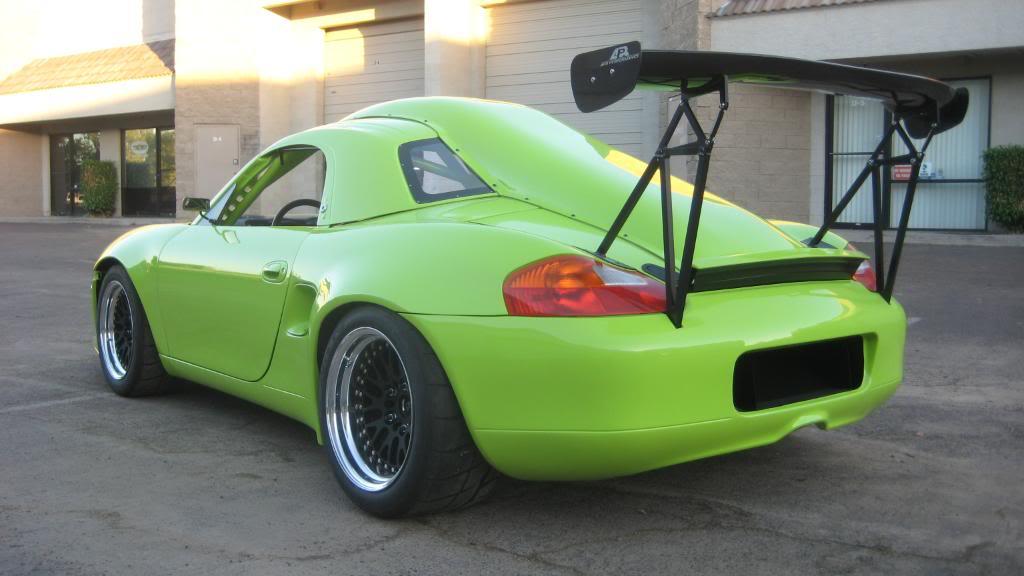 Subaru Powered Porsche Boxster Build Threads