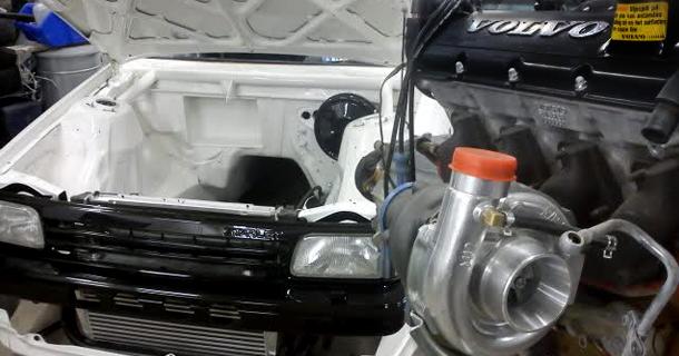 Toyota Starlet / Volvo 240
