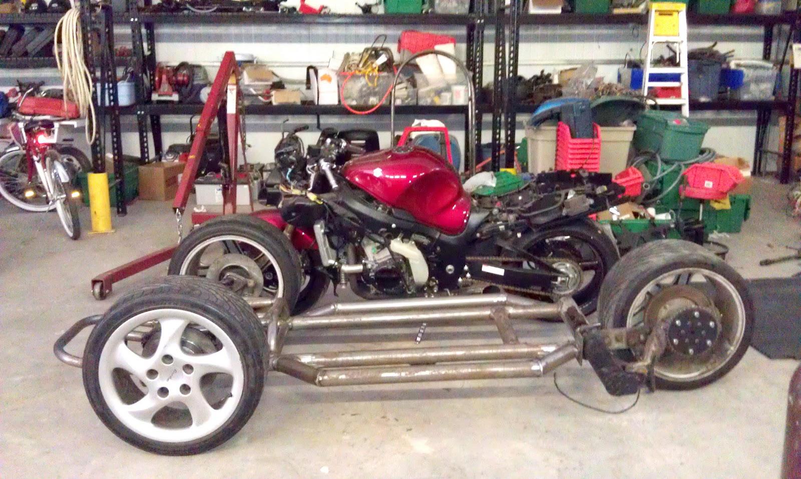 Hayabusa Reverse Trike – Build Threads