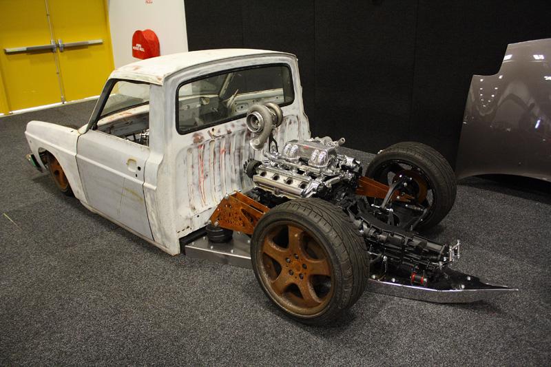 Midmounted Mazda Minitruck [video build]