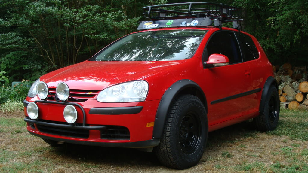 Lifted MKV Golf - Expedition Portal