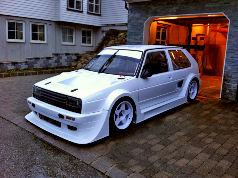 UPDATE – MK2 Golf Mid-Engine RWD