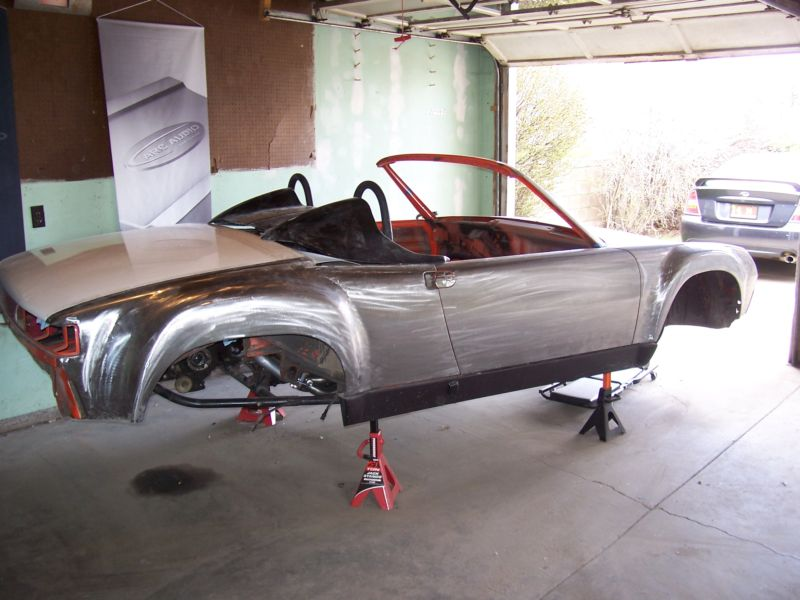 WRX-powered tube-framed Porsche 914 – Build Threads
