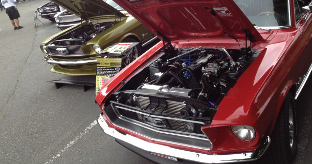 4-cylinder Turbo '68 Mustang