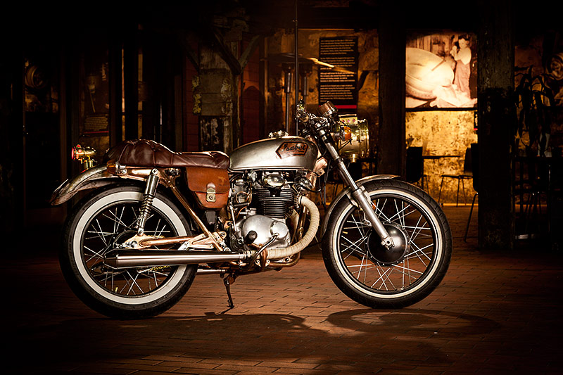 Steampunk Honda CB350