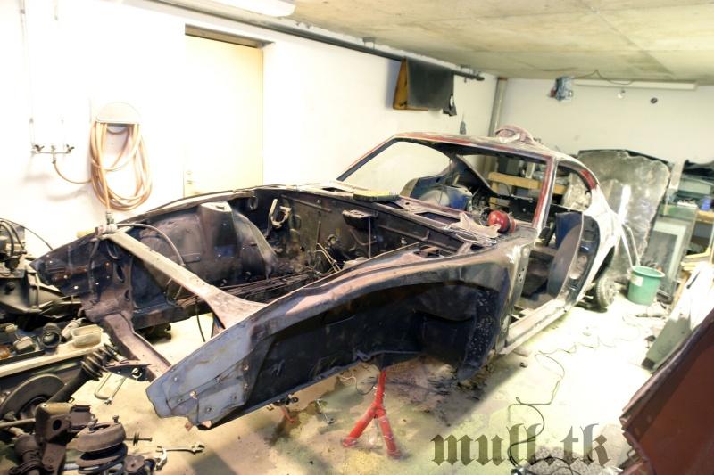 Datsun 240z: Projekt Hugo