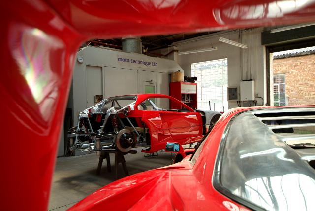 Ferrari F40 LM Restoration Part 1