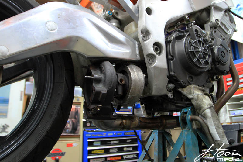 Project Hoonda – Turbo CBR900RR [video build]