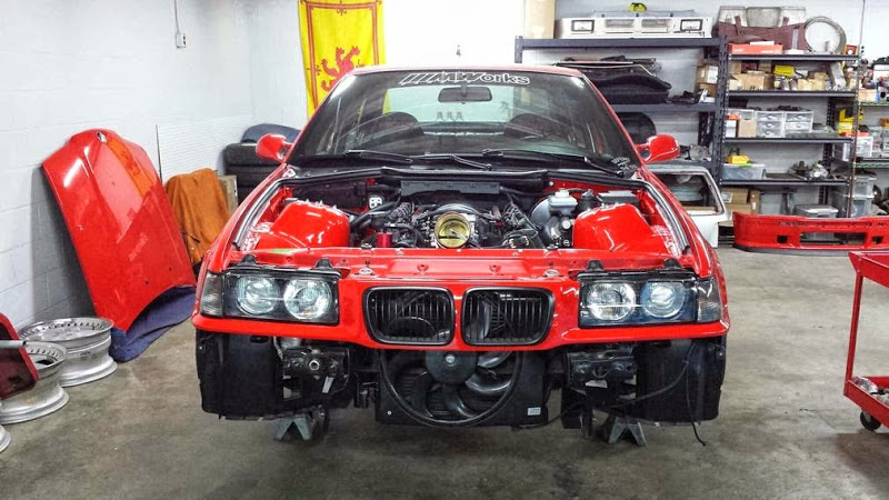 LSx powered E36 BMW