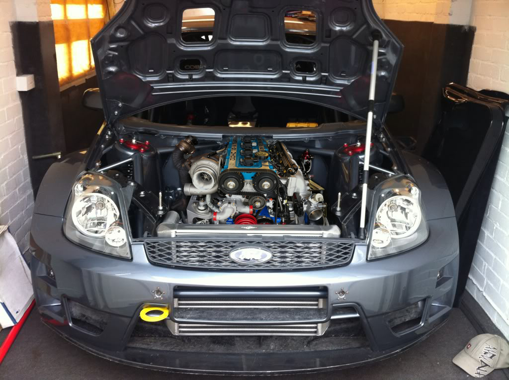 AWD Ford Fiesta Cosworth – Build Threads