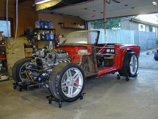 Triumph TR6…or Z06?