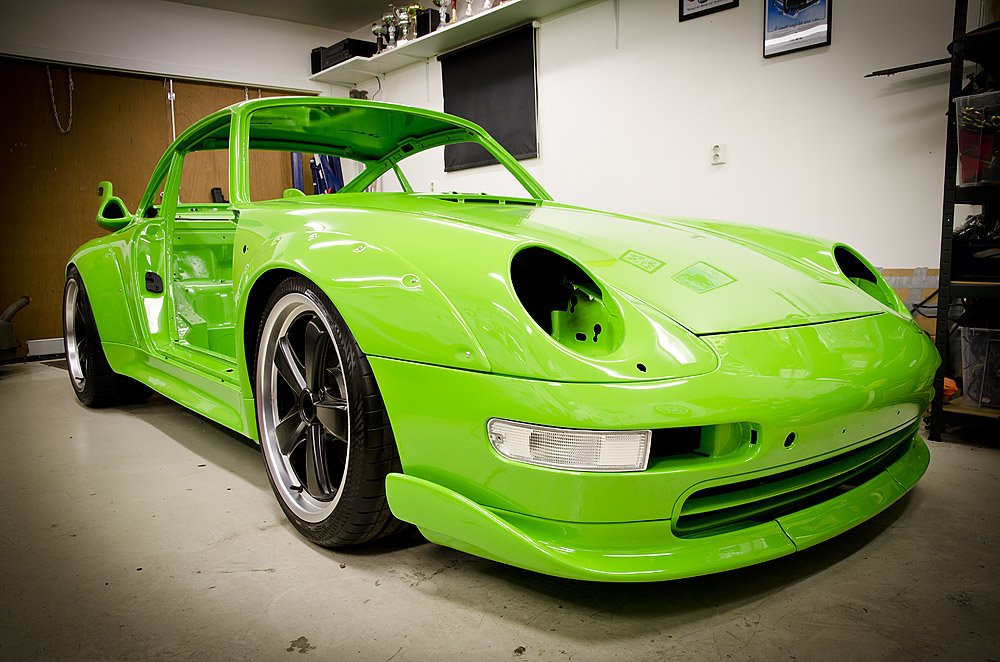 Porsche '83 targa to 993 RSR coupe