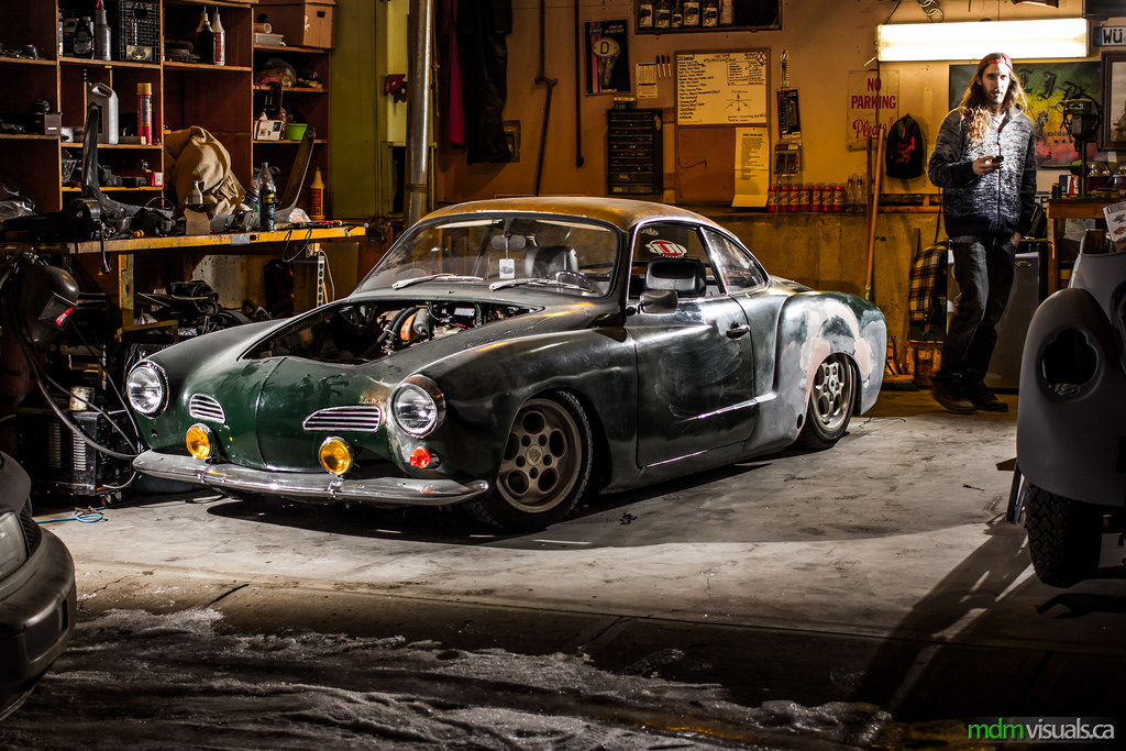 '69 Karmann Ghia, powered by Subaru.