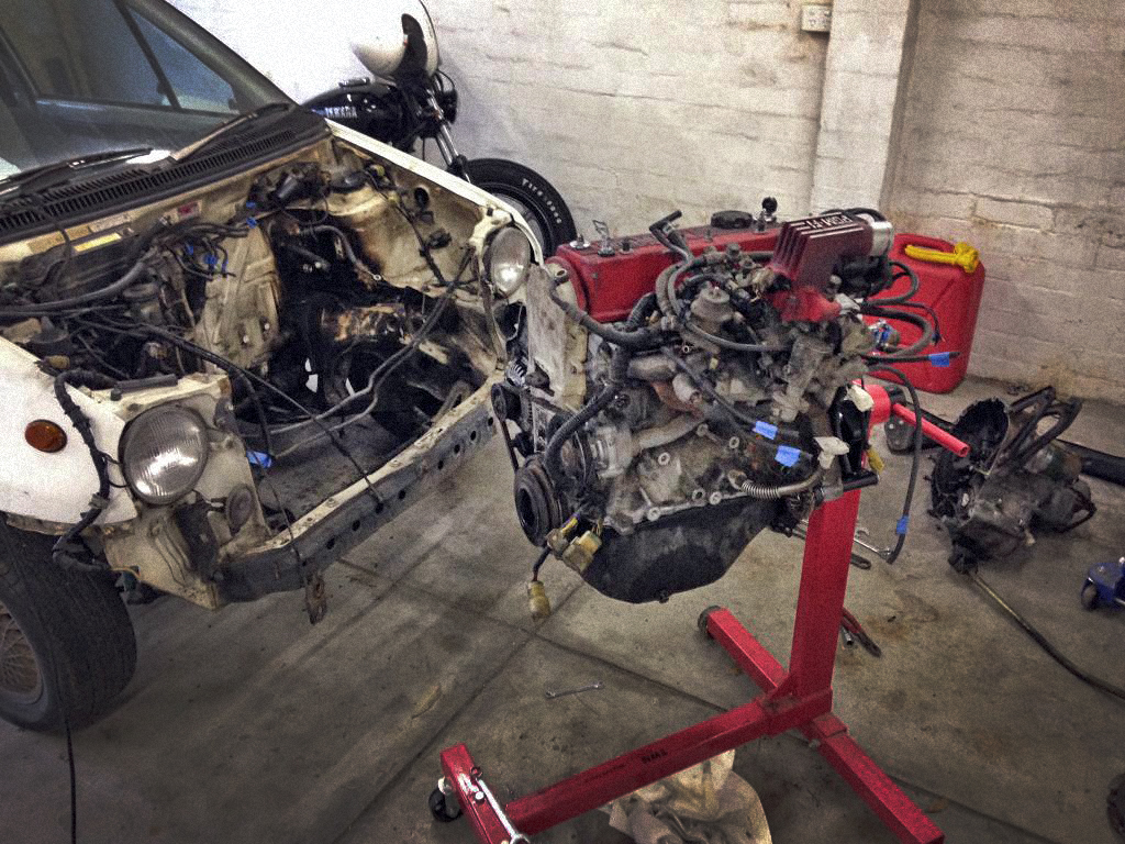 Project Honda City Turbo II – Teardown