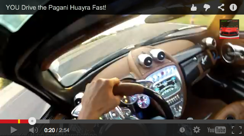 What I'm Watching: You drive the Pagani Huayra