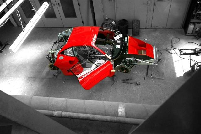 Ferrari F40 LM Restoration Part 2