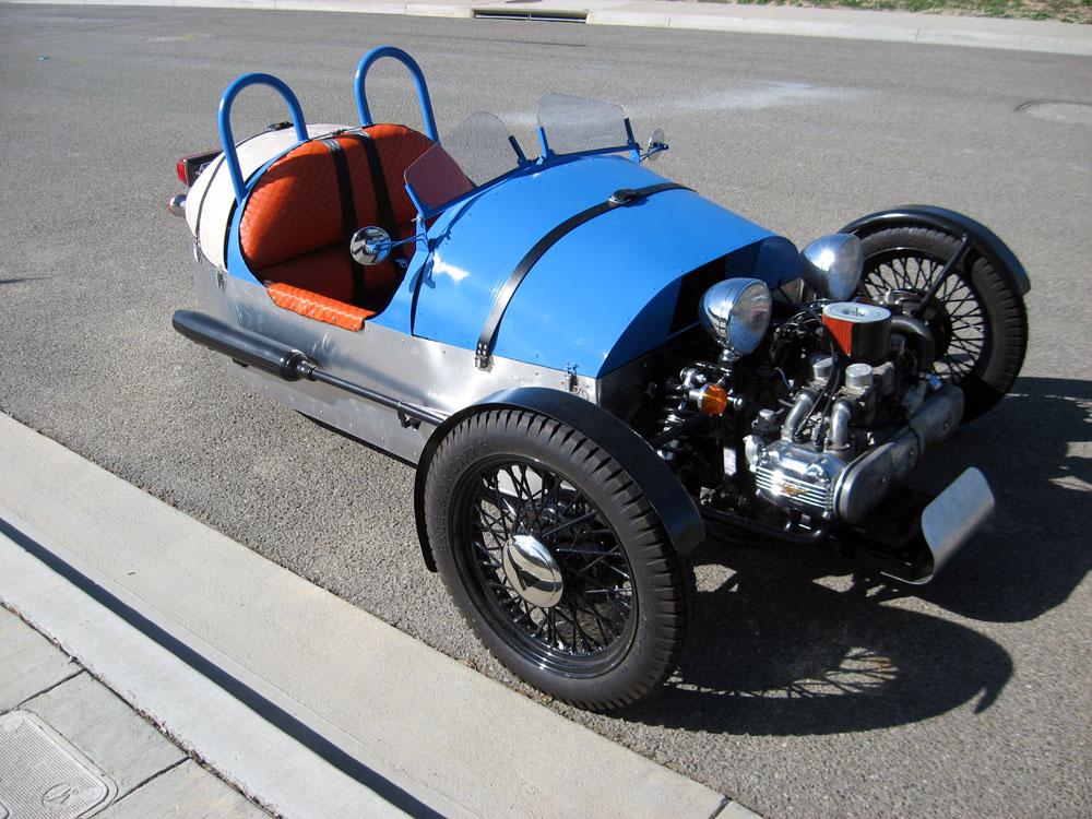 Building a Morgan 3-wheeler replica
