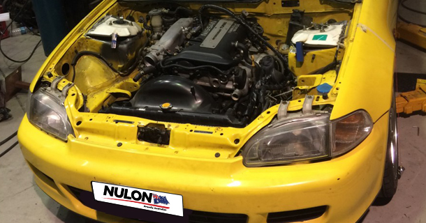 EG Civic / S15 Silvia – Engine installed!